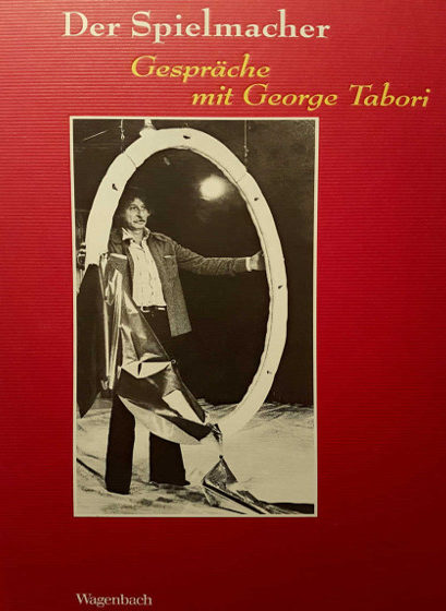 Anthology containing Rohwer's biographical conversation with Hungarian-American author-director Georges Tabori (Pg. 121-129, Wagenbach, Berlin, 2004)