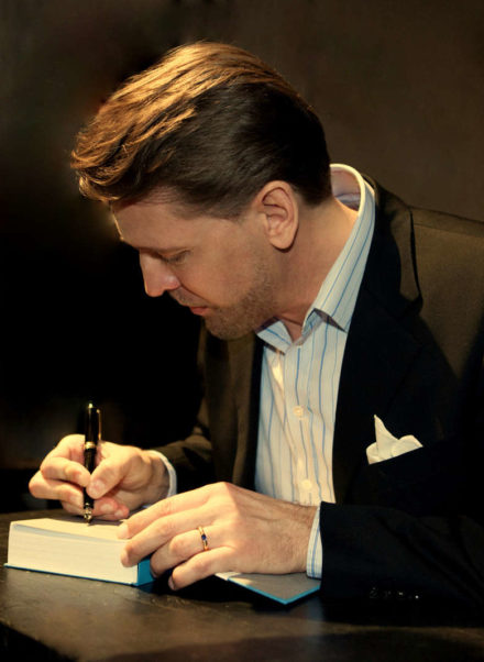 Joern Jacob Rohwer Book release and signing, Berlin 2014 (Picture taken by Tomasz Poslada)